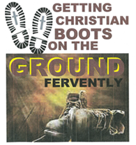 Boots on a ground